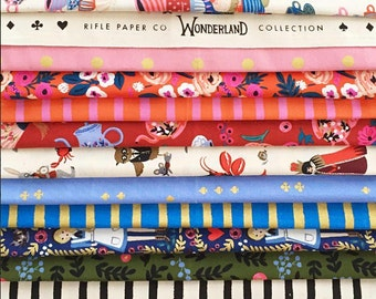 Wonderland - Half Yard Bundle by Riffle Paper Co for Cotton + Steel - 21 prints