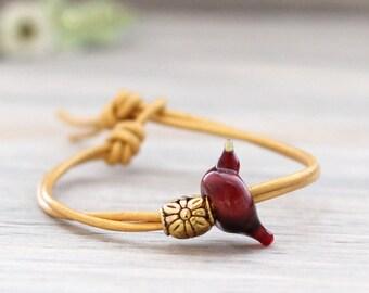 Cardinal Bird Bracelet, Bird Bracelet, Bird Jewelry, Bird Charm Bracelet, Cardinal Gift, Cardinal Bracelet, Cardinal Jewelry, Cardinal Charm