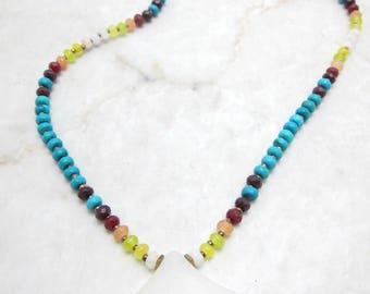 Festival Necklace. Turquoise Necklace. Native Necklace. Boho Necklace. Southwest Necklace. Navajo Necklace. TaraLynEvans. IMALA