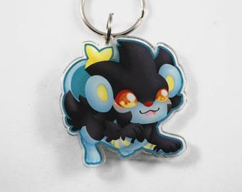 Pokemon Chibi Luxray Keychain