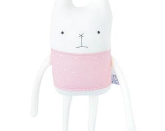 Plush Bunny Friend - Finkelstein's Center Handmade Creature