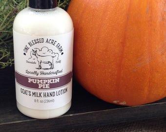 Goat Milk Lotion - Pumpkin Pie - 8 ounces