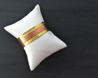 Simple Modern Brass Cuff Bracelet