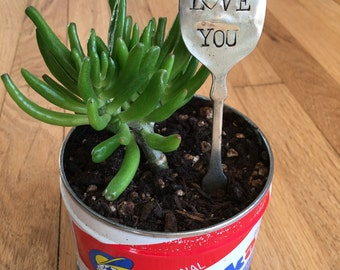 I Love You Garden Label