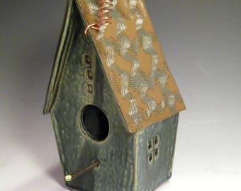 Birdhouse Wren house - indoors or outdoors