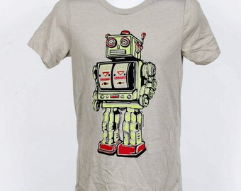 Robot T Shirt Adult XS SM M L 2XL  Ready To Ship!!!!