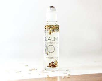 CALM perfume | Sensory Perfume with Lavender and Vanilla | 100% natural and vegan