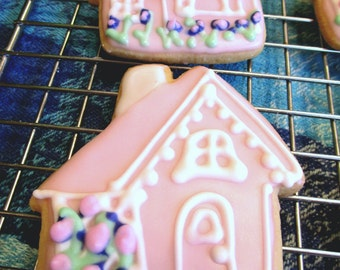 Little Pink Houses Cookies