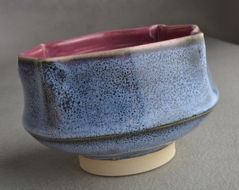 Shaving Bowl Ready To Ship Chawan Smooth Shaving Bowl Ice Cream by Symmetrical Pottery