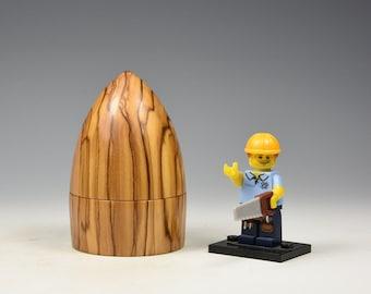 Olivewood wooden box, woodturning, gift,