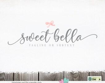 ribbon logo logo design logo bow logo hair bow logo logos and watermarks photographer logo blogger logo blog logos ribbon logo