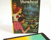 Upcycled e-Reader Case Made from Nancy Drew Book about Haunted Showboat, Fits Kindle Fire, HD6, Paperwhite, Nook, LG Pad 7, More