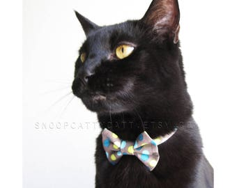 Cat Bow Tie - Spiffy Spots
