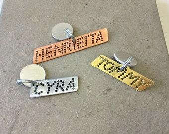 Custom dog ID personalized pet tag