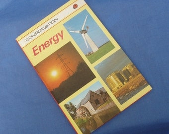 Energy - Vintage Ladybird Book Conservation Series - Series 727 - 1st Edition - Matt Covers