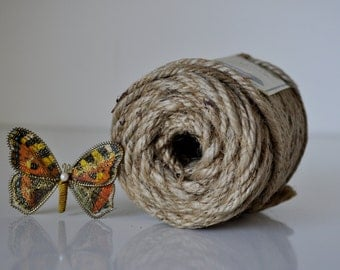 Roll of Macrame Natural Jute 4 Ply 1/2 lb 37 yards Original Packaging 30 Available