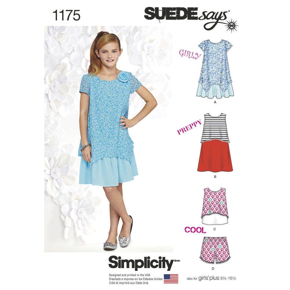 160c0a78c18 Simplicity Pattern 1175 Dresses