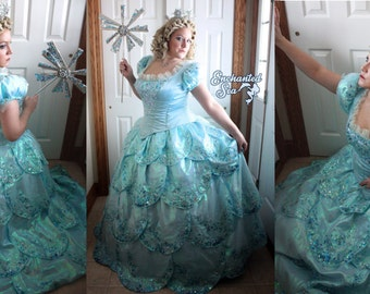 Glinda Inspired Bubble Dress! - fits L to XXL *read full listing 4 ALL details* - Gently Used -[Ready to Ship!] - Payment Plans Available!