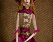 OOAK Victorian art doll by Majestic Thorns