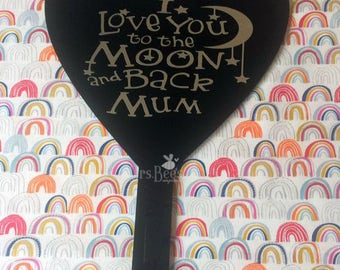 SALE - Grave Marker for Mum, headstone, custom memorial, personalized grave, sign, memorial gardens, Mums, grave decoration, love