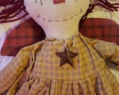 Primitive, Country Rag doll,