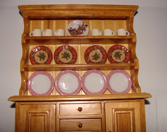 Dollhouse Enhancers, Plates, Dishes and Canisters, Choice