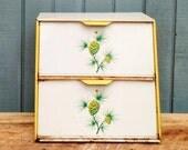 Vintage Pinecone Bread Box - Double Bread Box