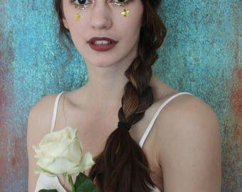Dark pink peony flower crown, floral hairband, hair accessory, hair wreath, festival crown