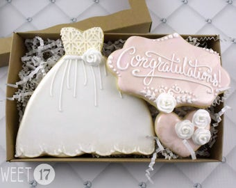 Wedding Sugar Cookies Box Set