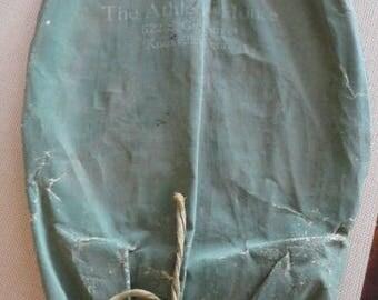 C752)  Antique Tennis Racket Cover  vintage racquet covers