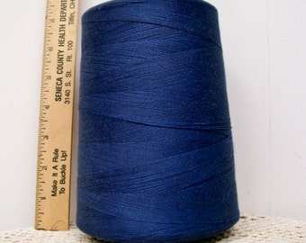 Coats American Cotton CONE THREAD Heavy Duty Tex 150 Soft Cadet Blue USA Sewing Jewelry Tassels Leather Craft