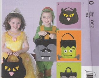 Trick or Treat Bags Pattern McCalls 7210 Uncut