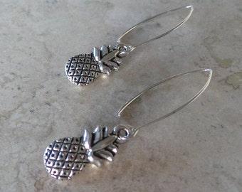 Pineapple Charm Earrings