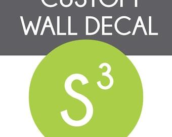 Custom Church Wall Decals for Randy