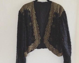 Vintage Beaded Jacket