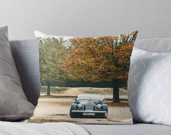 London car throw pillow - car pillow
