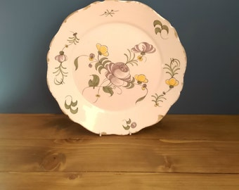 Late 18th Century Faience Plate