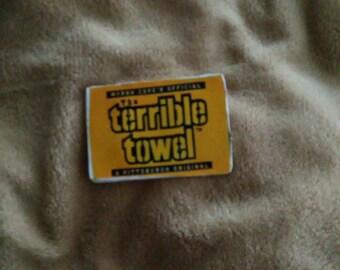 Terrible towel magnet
