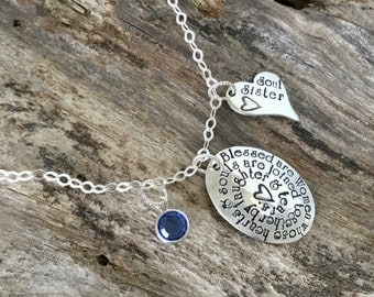 Soul sister necklace | Best friend gift | Best friend | More than Friends | Sister Necklace | Friendship Jewelry | Personalized Necklace