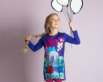 Dreamy Elephant - Sweatshirt dress