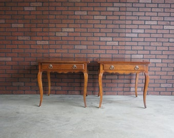 French Provincial Sofa Table Country French By