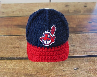 Coming home outfit, Baby Boy Clothes , Baby Shower Gift, Baby gifts, Cleveland Indians baby Boy Hats, Baby Clothes, Photo Props, Baby boy