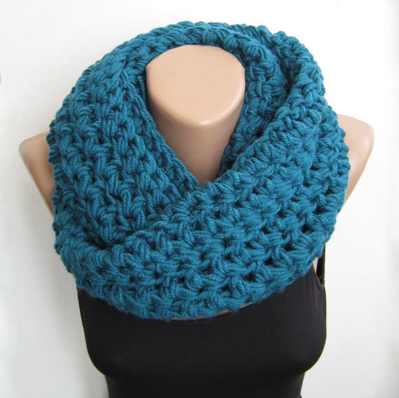 Cowl Infinity Circle, Best Seller Gift, Infinity Gift Wrap, Wrap Winter Crochet, Wool Loop Scarf, Loop Neck Warmer, Crochet Plus Size Snoods