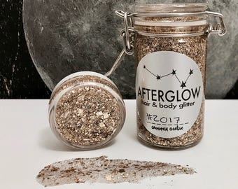 AFTERGLOW - #2017 Sparkly Golden Hair & Body Glitter