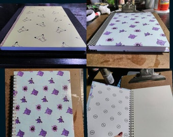 Pokemon Sketchbooks and Notebooks (FREE SHIPPING)