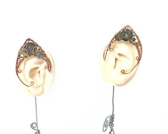 Steampunk Metal Elf Ears Pair