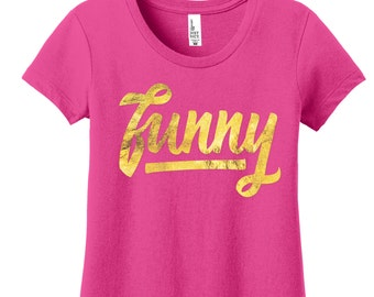 Funny Tshirts for Women Tshirts with Sayings Funny Shirts for Women Gold Foil Shirts for Women Powerful Women Shirts Womens Graphic Tees Her