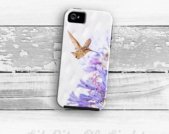 Hummingbird iPhone SE Case - Purple iPhone 6s Plus Cover - iPhone 6s Case - Bird iPhone 5s Case - iPhone 5 Case - iPhone 4/4s Case
