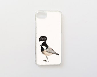 Bird iPhone 7 Case - Hello BirdieiPhone Case - iPhone 7 Case - Special Collection with Daniela Dahf iPhone Case - Hard Plastic or Rubber