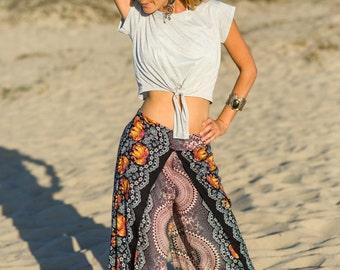 Elephant Pants, Harem Pants, Buddha Pants, Flow Pants, Hippie Pants, Festival Pants, Boho Pants, Beach Pants, Yoga Pants, Open Leg Pants